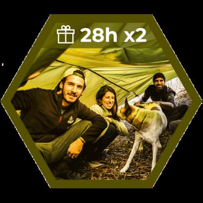 Pack pareja Superviviente 2 cursos de 28horas